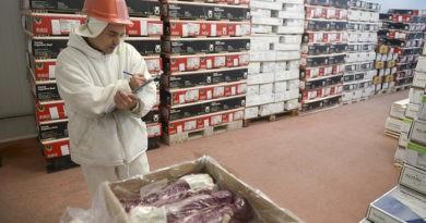 Menor demanda china provocó una baja en las exportaciones de carne